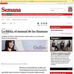 La Biblia, el manual de las finanzas columna de Silvia Parra