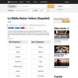 La Biblia Reina-Valera Spanish Bible – Biblia Espanol Online