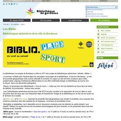Les Biblio. - bibliotheque-de-bordeaux
