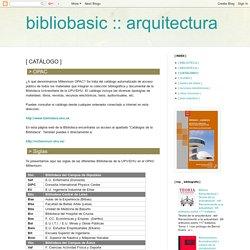 Abreviaciones de las bibliotecas de la UPV