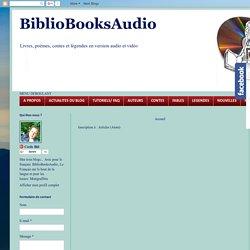 BiblioBooksAudio: Résultats de recherche pour vendredi
