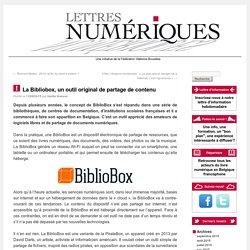 La Bibliobox, un outil original de partage de contenu