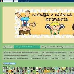 Chicos y chicas de primaria: Bibliografía de MATEMÁTICA para docentes