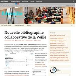 Nouvelle bibliographie collaborative de la Veille
