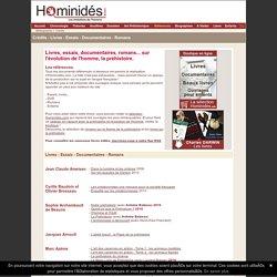 Bibliographie - DVD - Colloques - Conférences - Evolution de l'homme