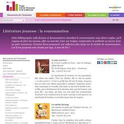 Bibliographie - Littérature jeunesse : la consommation