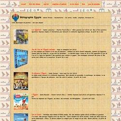 bibliographie Egypte