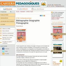 Bibliographie Sitographie Filmographie