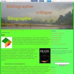 Brésil - Bibliographie critique de géographie