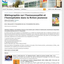 Bibliographie sur l'homosexualité et l'homophobie dans la fiction jeunesse - Le blog de la médiathèque Maupassant