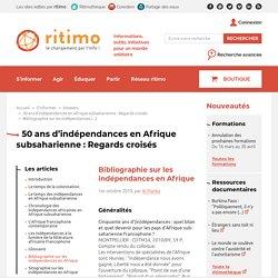 Bibliographie sur les indépendances en Afrique