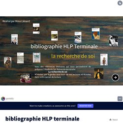 bibliographie HLP terminale par lienardmarieke sur Genially