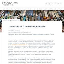 Bibliographie des RIMELL – Littérature mode d'emploi