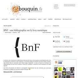BNF : une bibliographie sur le livre numérique