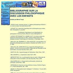 Bibliographie Philosophie pour enfants