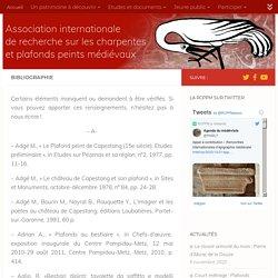 Bibliographie – RCPPM