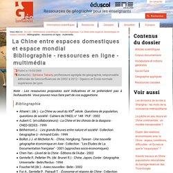 Bibliographie - ressources en ligne - multimédia
