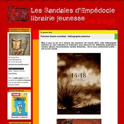 Première Guerre mondiale : bibliographie sélective
