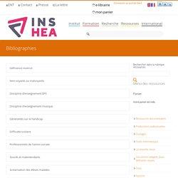 Bibliographies de l'INSHEA
