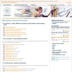Bibliographies et dossiers doc EHESP