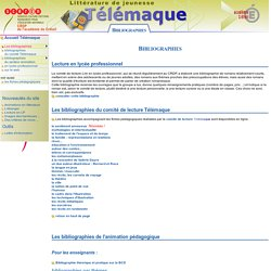 Bibliographies thématiques - Télémaque