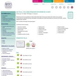 Institut de recherche et documentation en économie de la santé (IRDES)