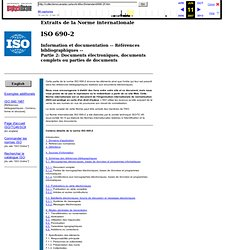 ISO 690-2, Références bibliographiques aux documents électroniques