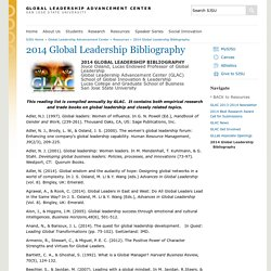 Global Leadership Advancement Center