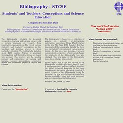 Bibliography - STCSE