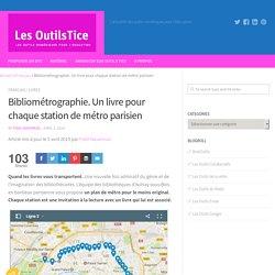 Bibliométrographie. Un livre pour chaque station de métro parisien