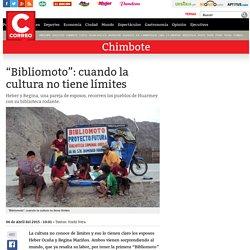 """""""Bibliomoto"""": cuando la cultura no tiene límites"""