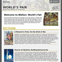 Biblion: World's Fair | Home