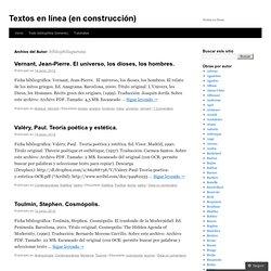 Textos en línea (en construcción)