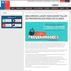 BiblioRedes lanzó innovador taller de programación para escolares « INJUV