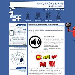 Bibliosciences : Mon quartier en couleurs sonores - Les Petits Débrouillards Rhône-Alpes