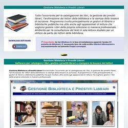Gestione Biblioteca e Prestiti Librari - Software per catalogare libri, gestire prestiti ai lettori e stampare tessere bibliotecarie
