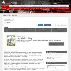 Ley del Lobby - Ley fácil - Biblioteca del Congreso Nacional de Chile