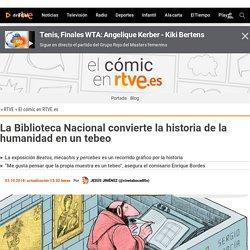 La Biblioteca Nacional convierte la historia de la humanidad en un tebeo