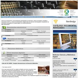 Biblioteca Digital de la OEI