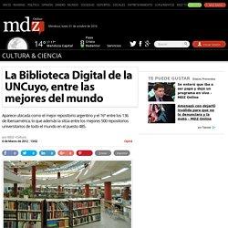 La Biblioteca Digital de la UNCuyo, entre las mejores del mundo