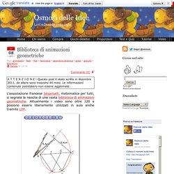 Osmosi delle Idee » Biblioteca di animazioni geometriche
