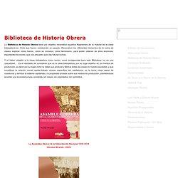 » Biblioteca de Historia Obrera