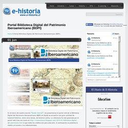 Portal Biblioteca Digital del Patrimonio Iberoamericano (BDPI)- Un portal de historia y TIC