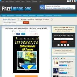 Biblioteca Básica Informática – Antonio Ferrer Abelló