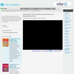 Inclusión de TIC en escuelas para alumnos con discapacidad visual