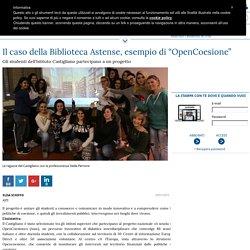 """Il caso della Biblioteca Astense, esempio di """"OpenCoesione"""" - 20/01/2016"""