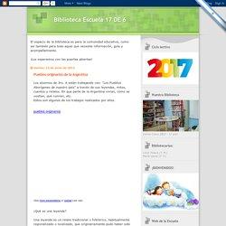 Biblioteca Escuela 17 DE 6: Pueblos originarios de la Argentina