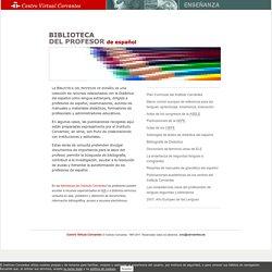 Biblioteca del profesor de español