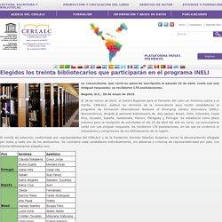 Elegidos los treinta bibliotecarios que participarán en el programa INELI