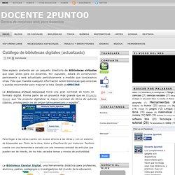 Catálogo de bibliotecas digitales (actualizado)